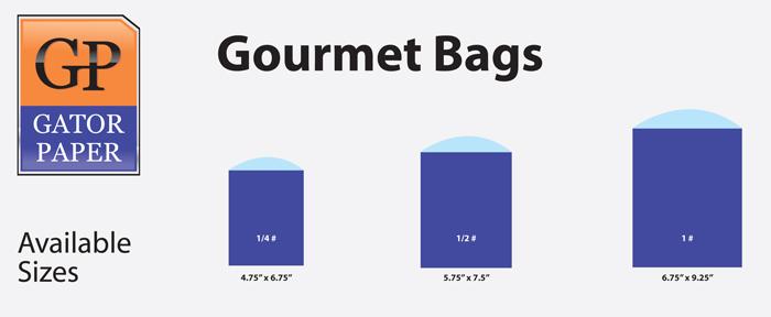 Custom Printed Gourmet Bags