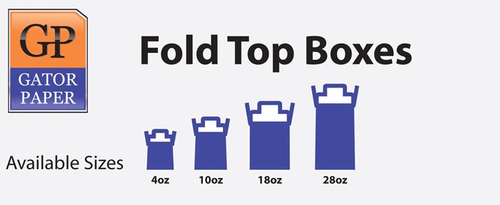 Custom Printed Fold Top Boxes