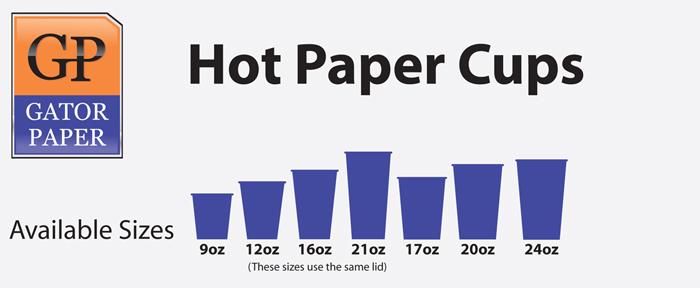 Custom Printed Hot Paper Cups