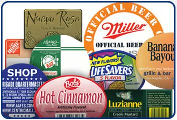 Custom Printed Food Service Labels