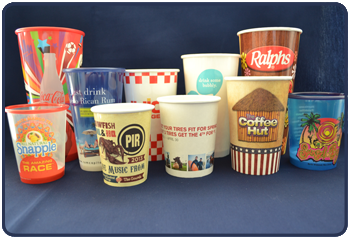 Custom Printed Logo Cups
