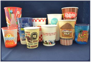 Custom Printed Logo Cups
