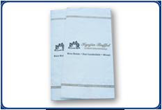 Guest Towel, Paper Linen, 1/6 fold