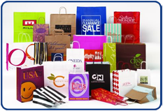 Handled Shopper Bags