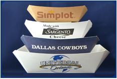 Paper Food Boats