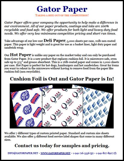 Industry Exclusive – Hot Paper