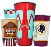 Custom Printed Drink Cups