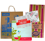 Custom Printed Food & Retail Bags