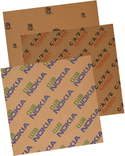 food service sheets Coated Kraft Paper