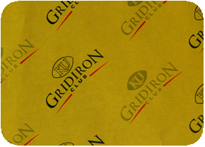 food service sheets golden rod paper