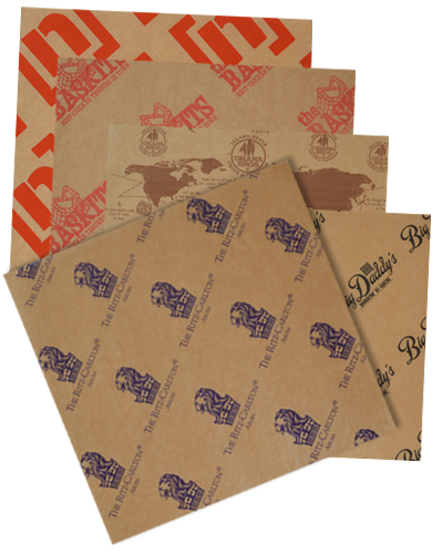 custom printed eco kraft paper sheets u0026 rolls