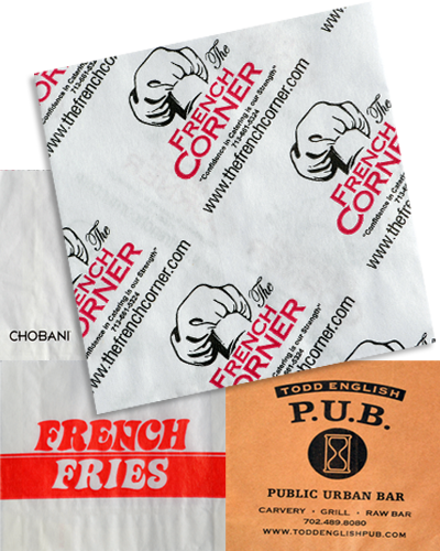 Custom Printed French Fry Bags