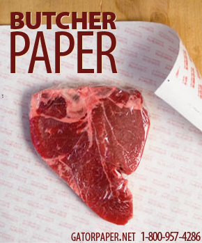 Custom Printed Butcher Paper