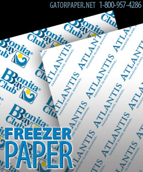 Custom Printed Freezer Paper