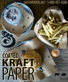 Custom Printed Coated Kraft Paper