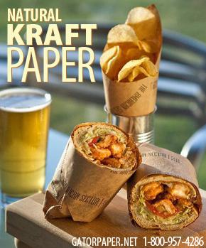 Custom Printed Natural Kraft Paper
