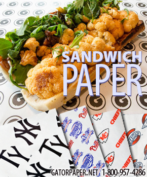 Custom Printed Sandwich Paper