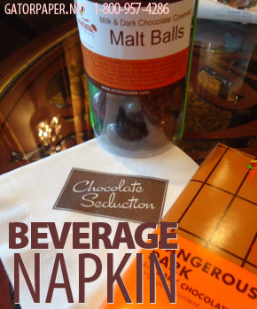 Custom Printed Beverage Napkins – Cocktail Napkins