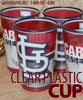 Custom Printed Clear Plastic VS Cups