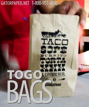 Custom Printed ToGo Bags