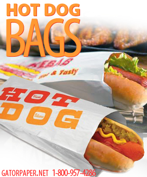 Custom Printed Hot Dog Bags