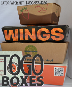 Custom Printed To Go Boxes - Take Out Boxes
