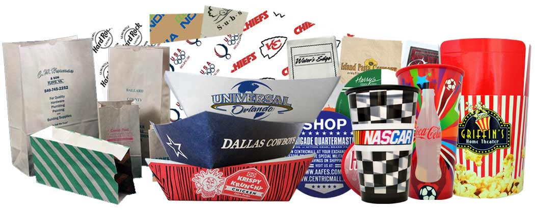 Custom Printed Food Packaging Supplies & Services
