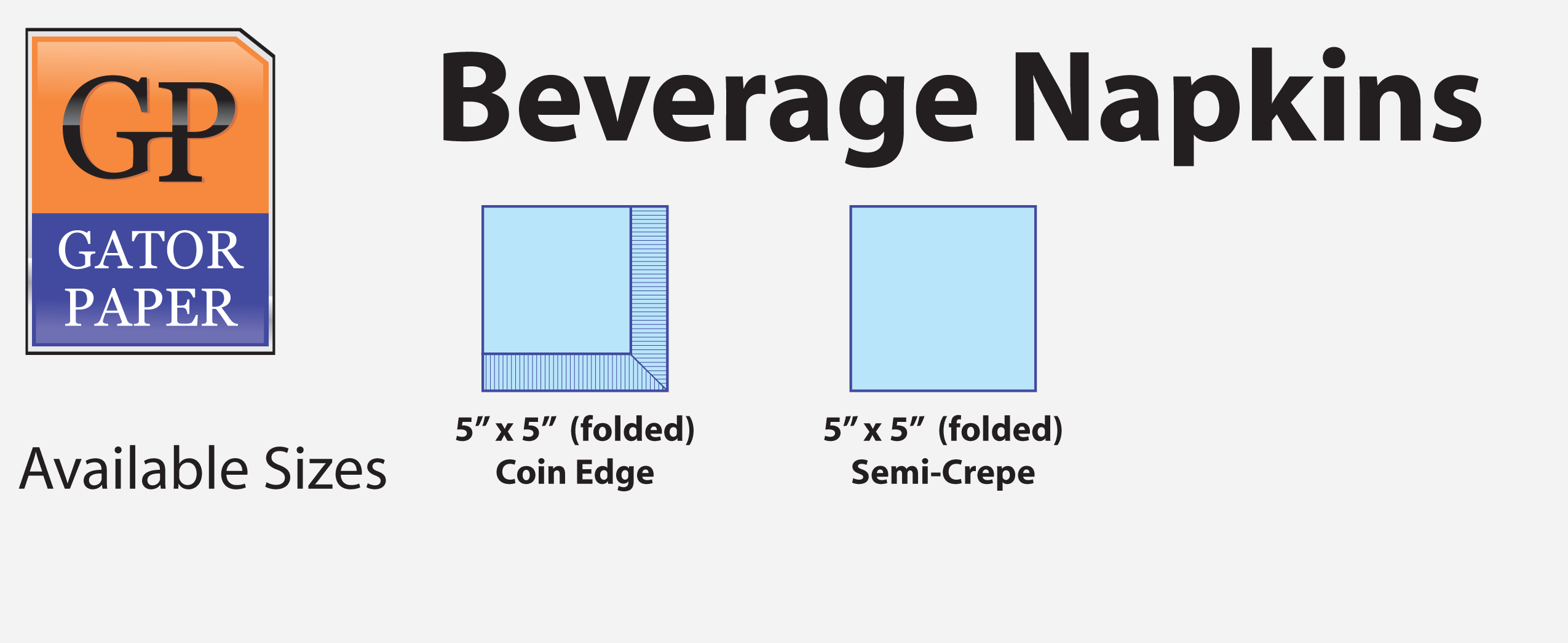 Custom Printed Beverage Napkins