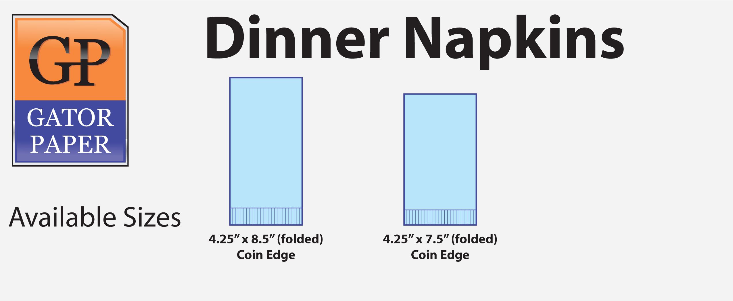 Custom Printed Dinner Napkins