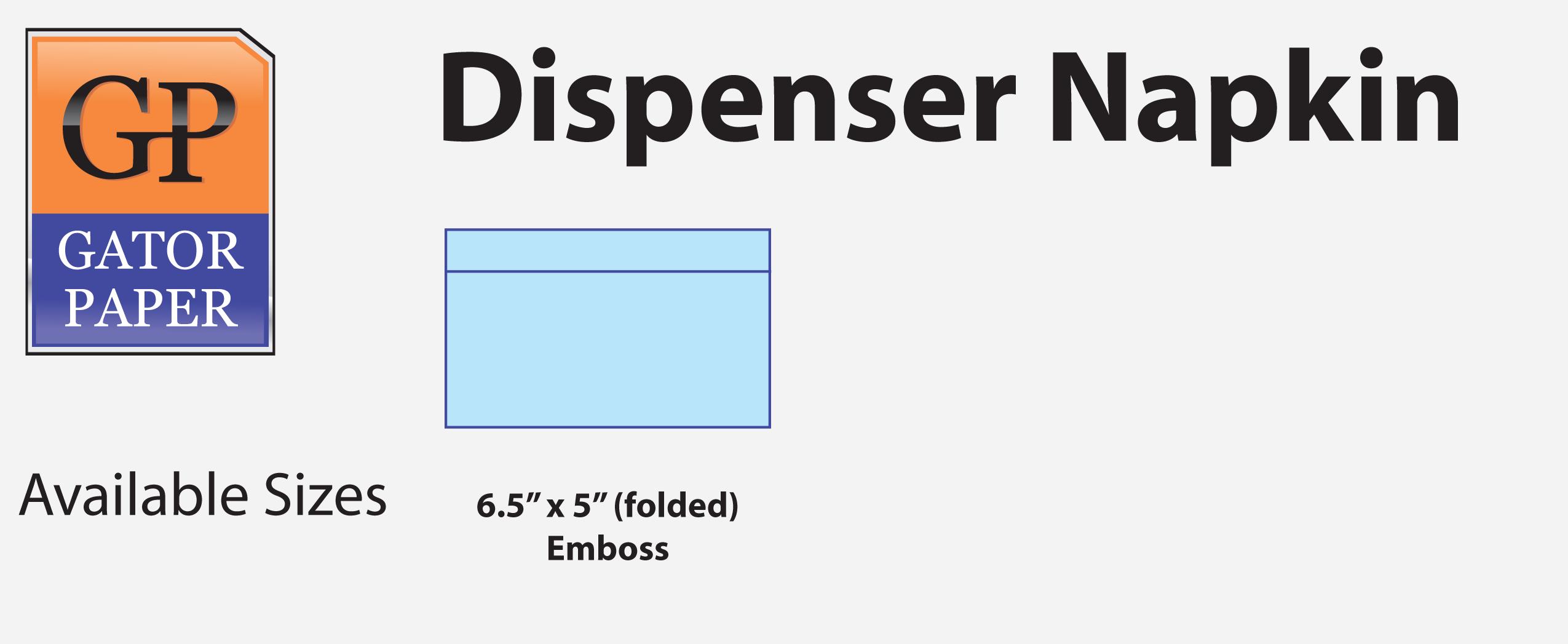 Custom Printed Dispenser Napkins