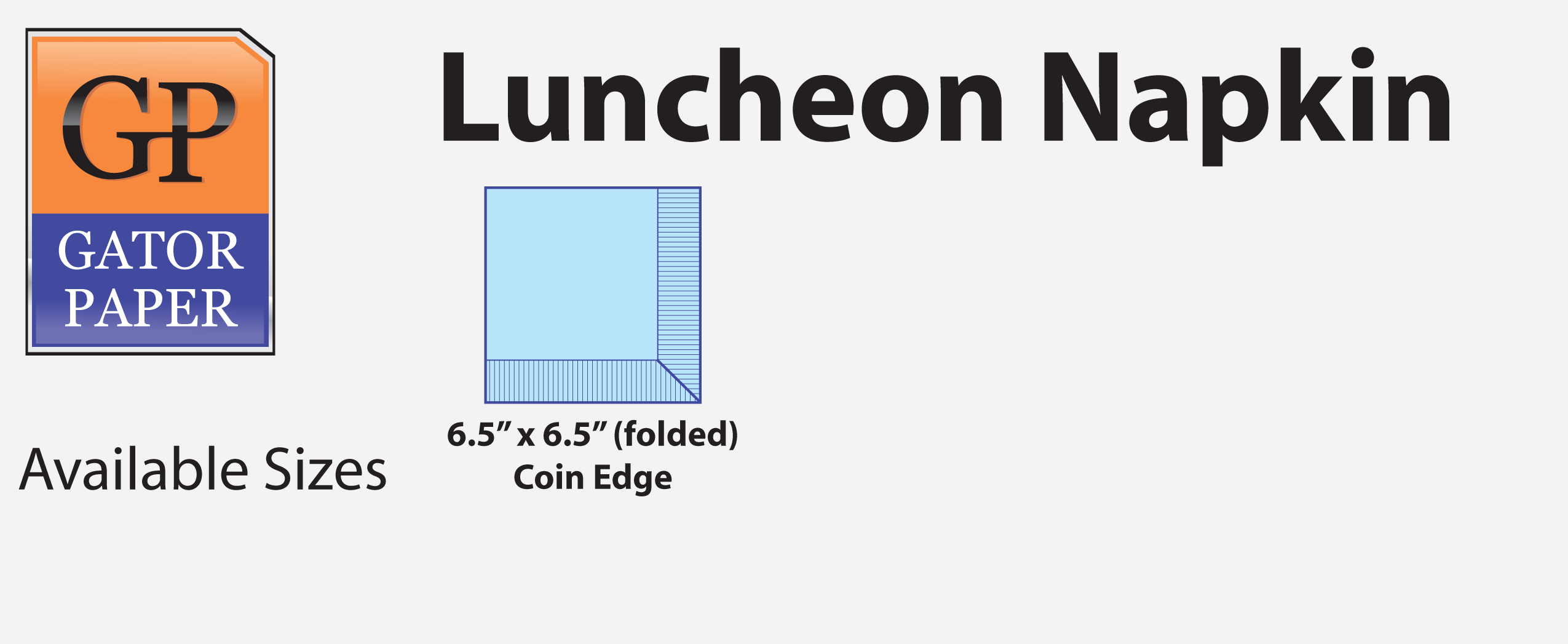 Custom Printed Luncheon Napkins