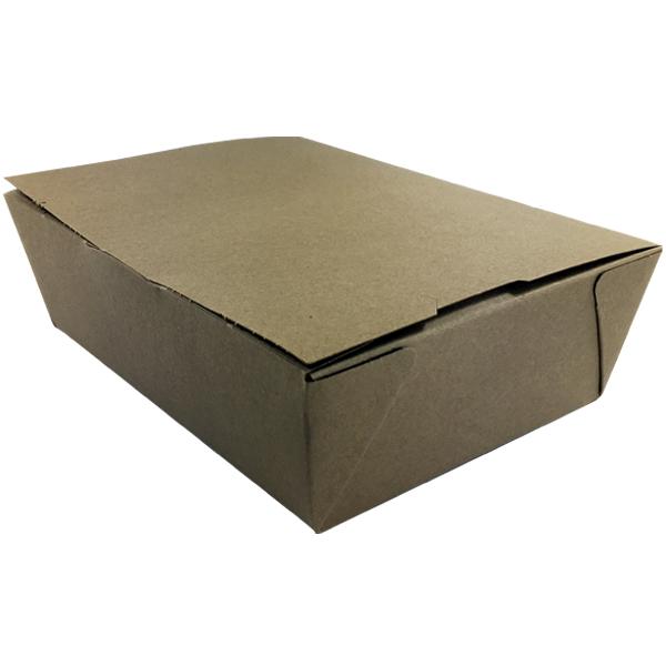 Kraft To Go Boxes - Unprinted