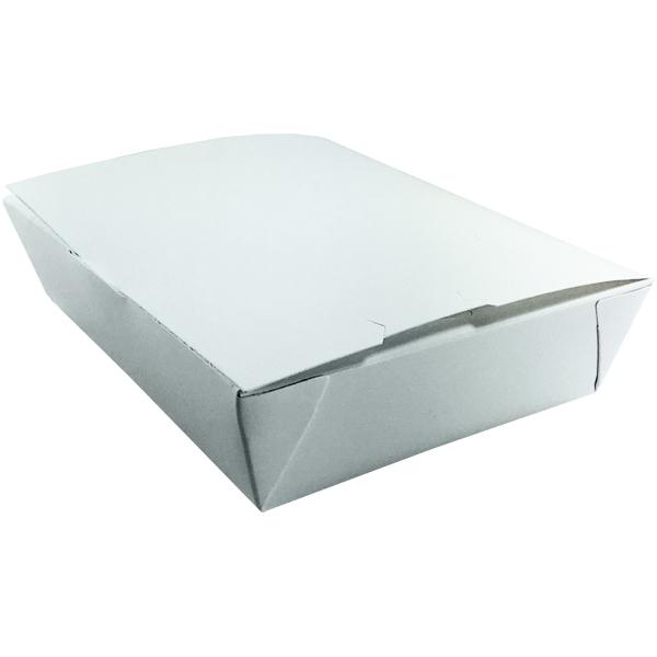 White To Go Boxes - Unprinted