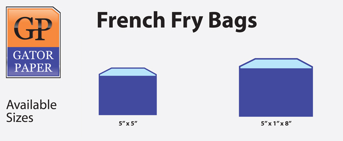 French Fry Bags Diagram