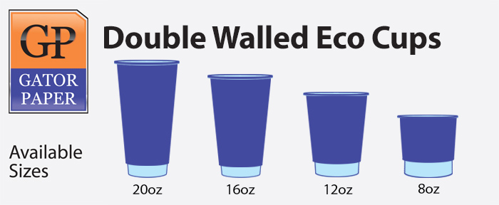 Double Walled Eco Cups